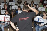 Dirigent Siegfried Rappenecker am verzweifeln?