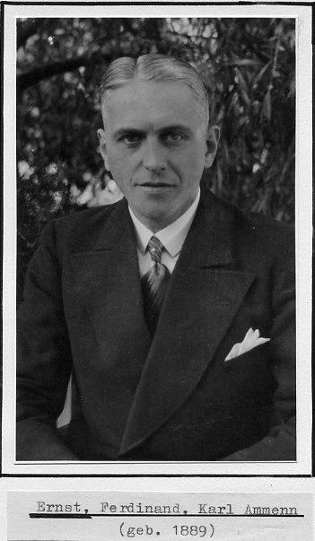 Ernst Ferdinand Karl Ammenn
