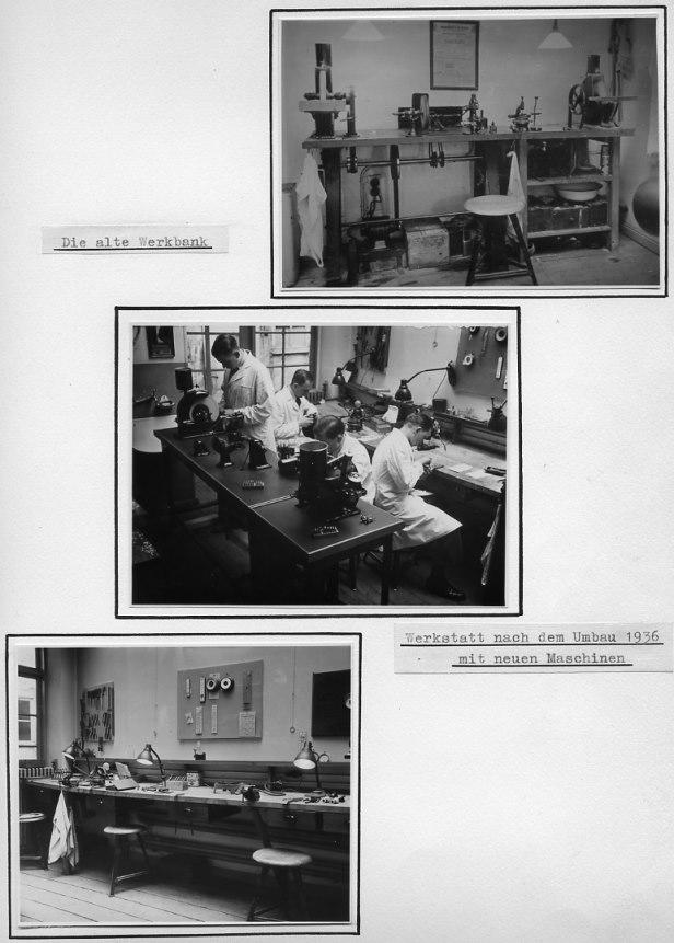 Optiker Brillen Krille Rostock - Werkstatt 1936