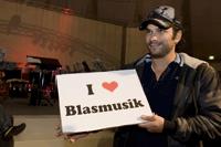 Marc Terenzi liebt Blasmusik