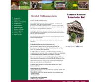 Webpage-Ansicht Kohlenbacherhof