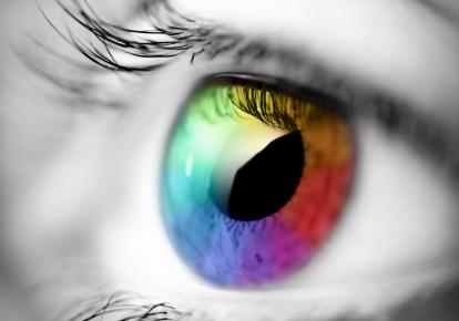 Augen Regenbogen