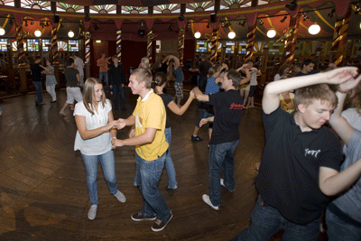 Fortgeschrittene beim Salsa Tanzen