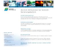 Webpageansicht Sanierungstechnik Schmidt