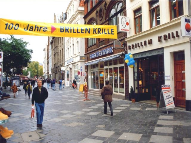 100 Jahre Brillen Krille - Optiker in Rostock