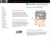 Webpageansicht Thoneick